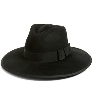 Britton Joanna III Wool Felt Hat Black Hat NEW